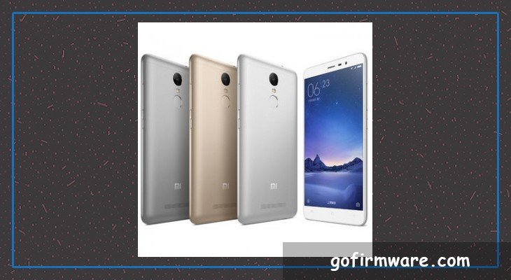 Update Download redmi note 3 mtk firmware