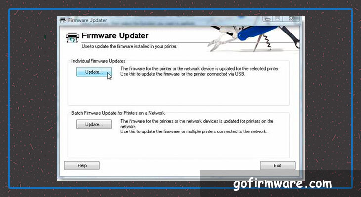 Download firmware for printer