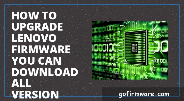 Firmware Lenovo