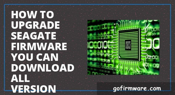 Firmware Seagate