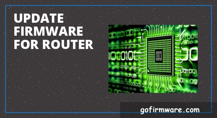 Update firmware for router